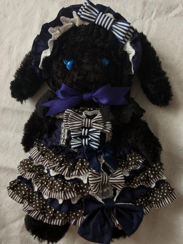 手作兔熊裙