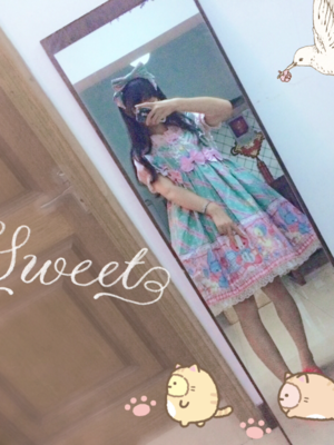 WeeJay_V_みく♡の「Angelic pretty」をテーマにしたファッションです。(2017/09/01)