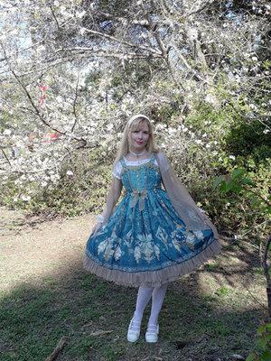 Fairy in the Sakura Trees.
