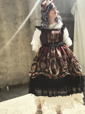 Leticia R da Silvaの「Classical Lolita」をテーマにしたファッションです。(2017/09/09)