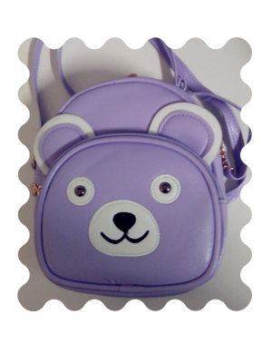 Sweet Purlpe Teddy Bear Bag