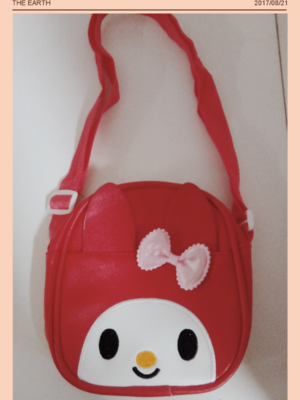 My Melody Red Cute Bag