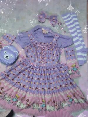 Sweet Purple Floordinate A...