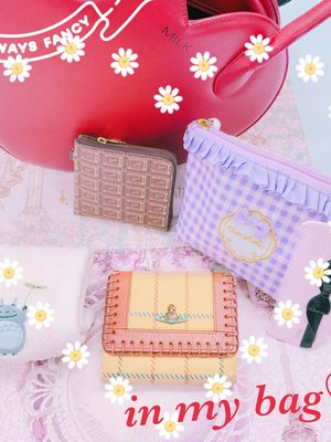 Wunderwelt Fleur's 「whats-in-my-bag」themed photo (2017/09/21)
