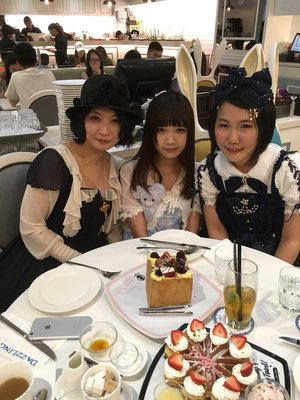 We attended a Lolita Trade...