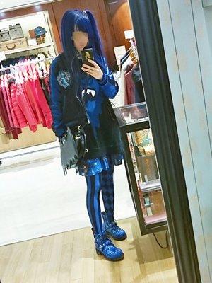 Bag:Angelic Pretty; Cap:絡繰...