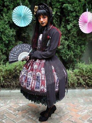 TheMadLolitaの「Gothic」をテーマにしたファッションです。(2016/08/03)