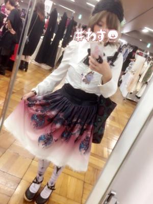 杏珠の「Gothic」をテーマにしたファッションです。(2017/10/05)