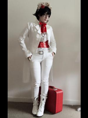 Gravelvetの「Dandy」をテーマにしたファッションです。(2017/10/08)