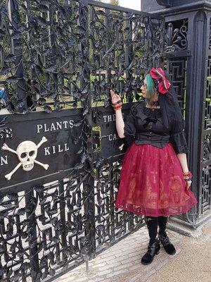Had to wear Horror Garden ...