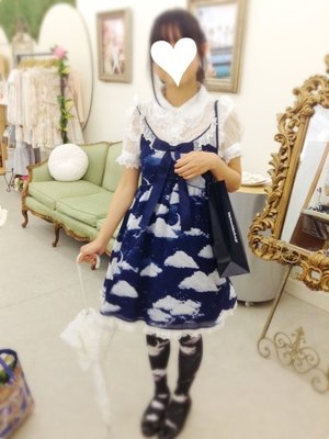 Kuroeko's 「Angelic pretty」themed photo (2016/08/11)