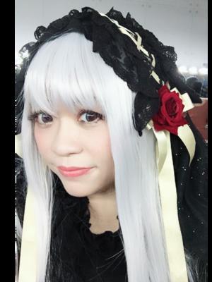 第一次嘗試銀髮٩(ˊᗜˋ*)و✧*。 初めての白い髪...