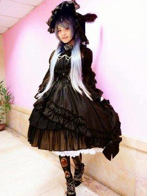 Headdress:  1. 魔女之家 绒面绑带蝴蝶...