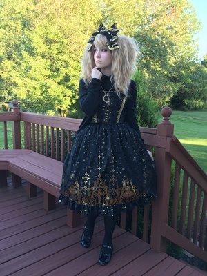 SunReiReiの「Gothic」をテーマにしたファッションです。(2016/08/15)