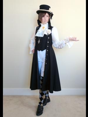Kira-ouji の「halloween-coordinate-contest-2017」をテーマにしたファッションです。(2017/10/27)